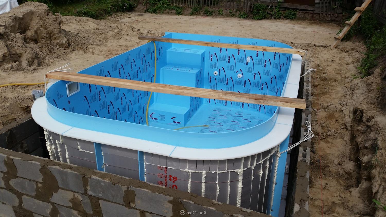 Строим бассейн своими руками фото